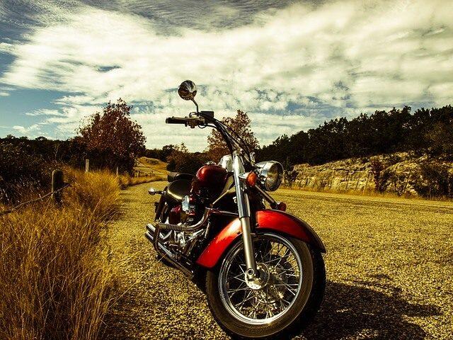 S motorkou na cestě