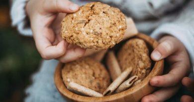 Zdravé kokosové cookies