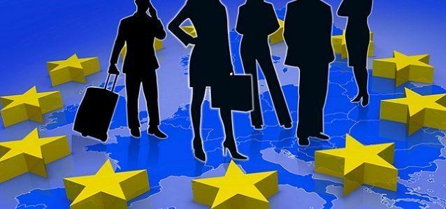 život a práce v EU