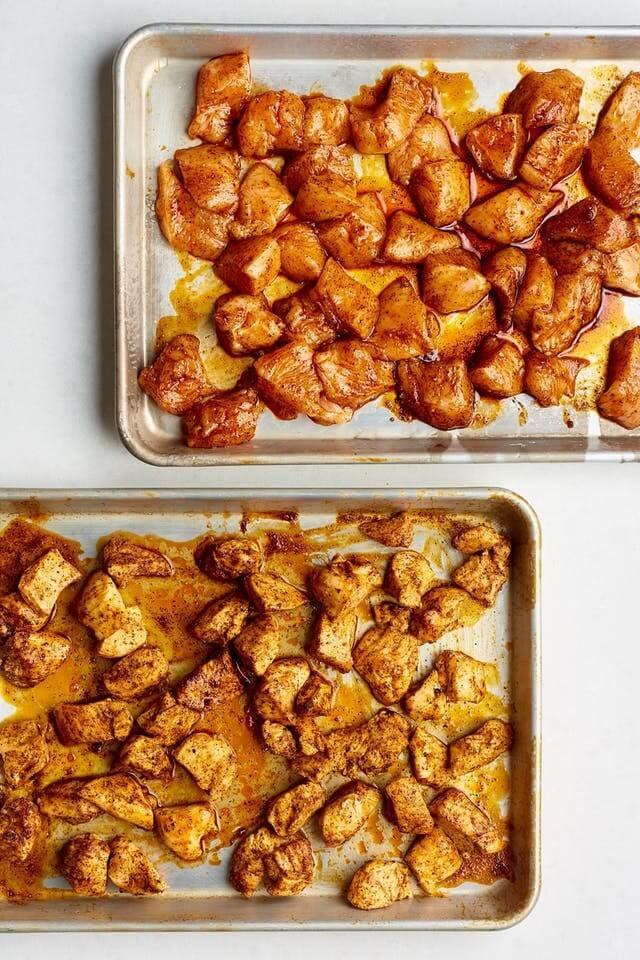 Indické kuřecí kousky