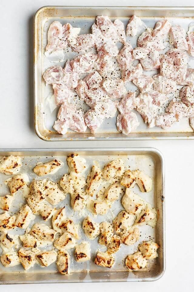 Parmazánové kuřecí kousky