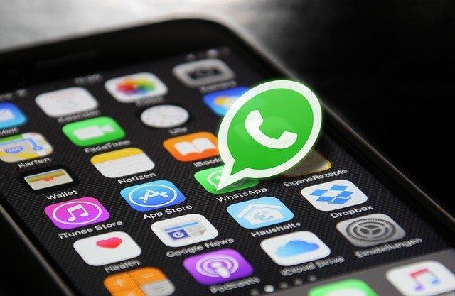 WhatsApp funkce videohovorů
