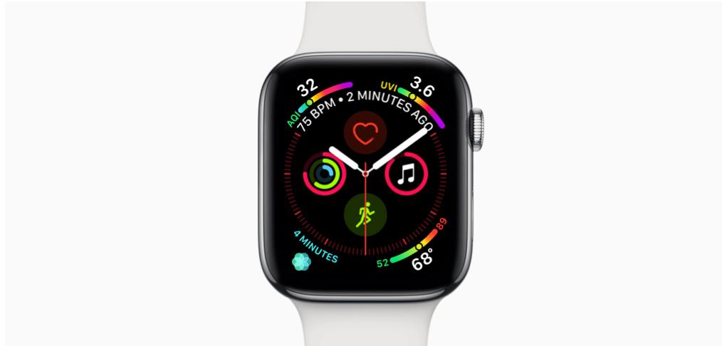 Apple Watch 4 měření zdraví