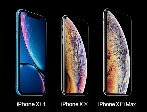 Iphone XR, XS a XS Max