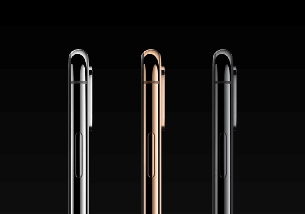 Iphone XS a XS Max profil
