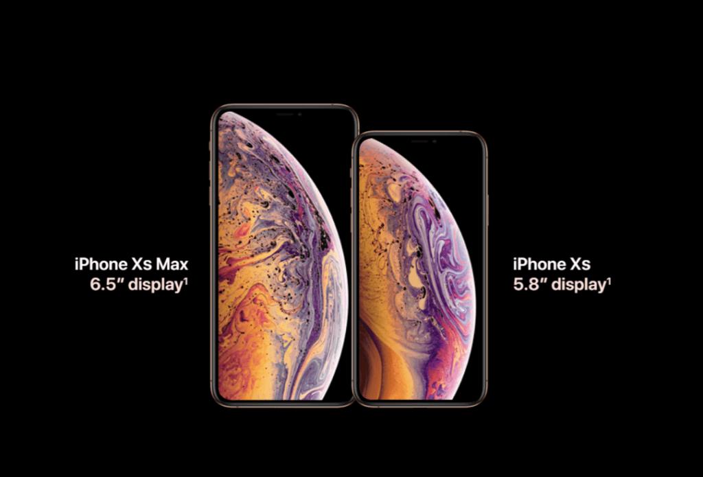 Iphone XS a XS Max rozměr displeje
