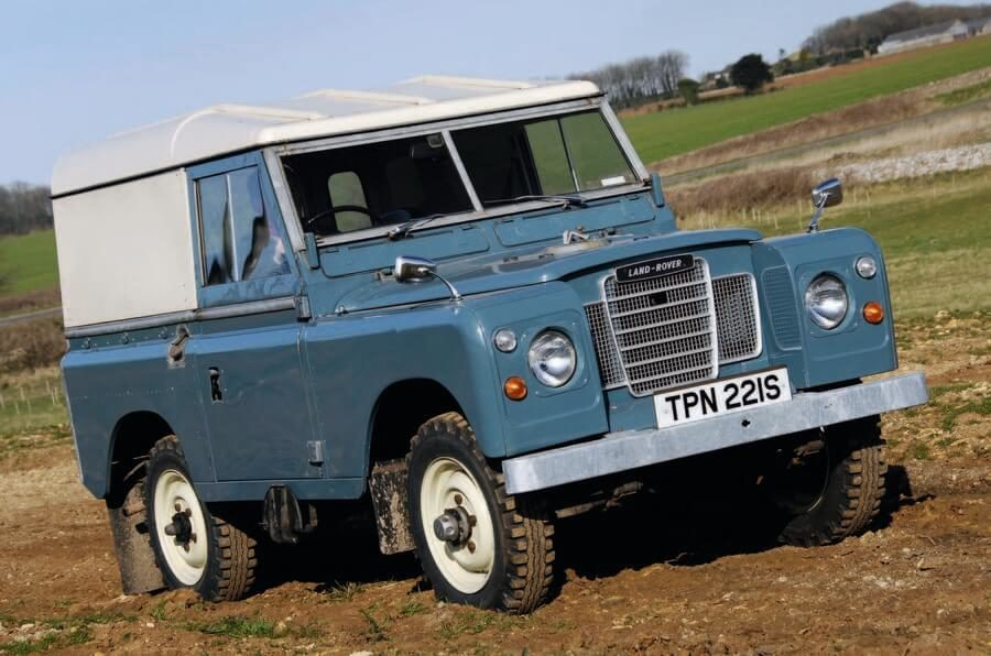 Stará verze Land Rover Defender