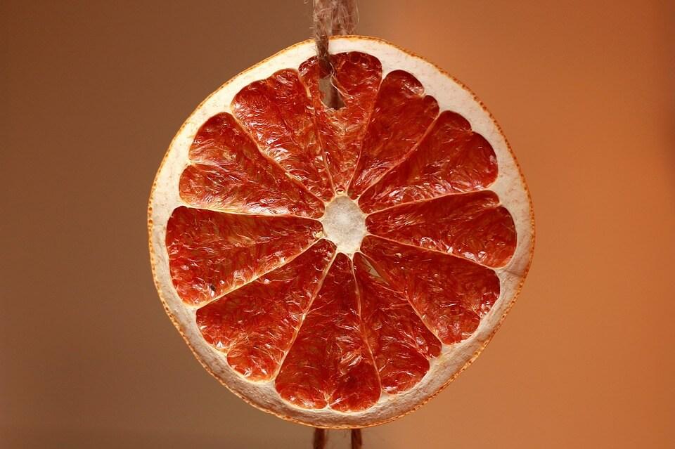 Usušený pomeranč