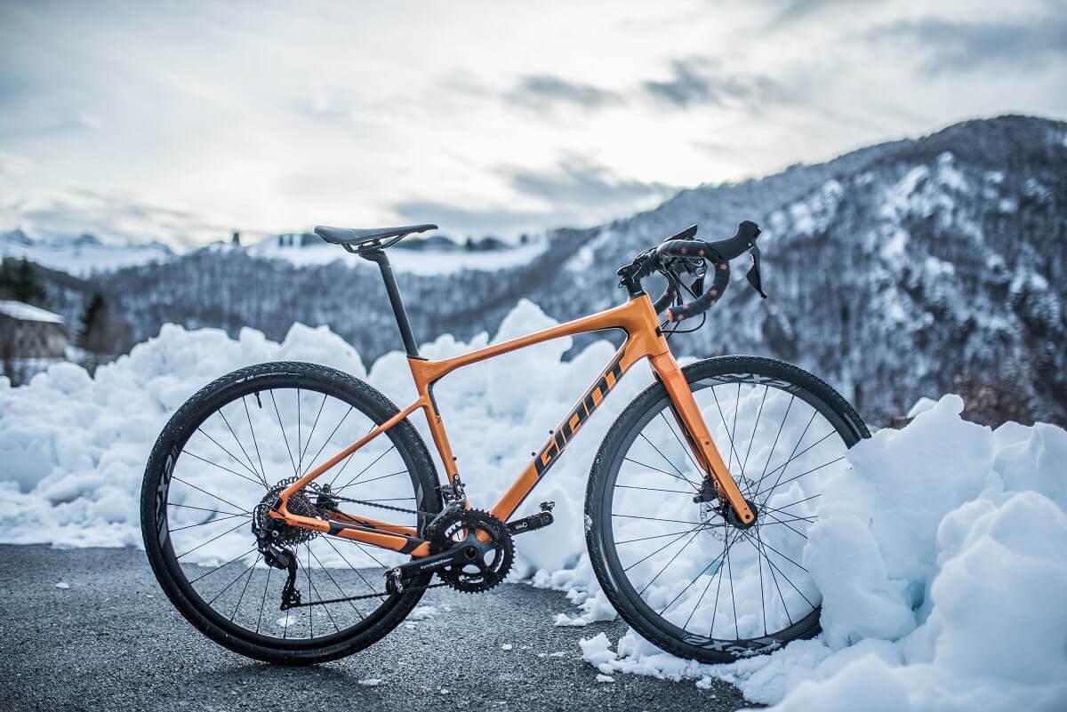 Horské zimní kolo