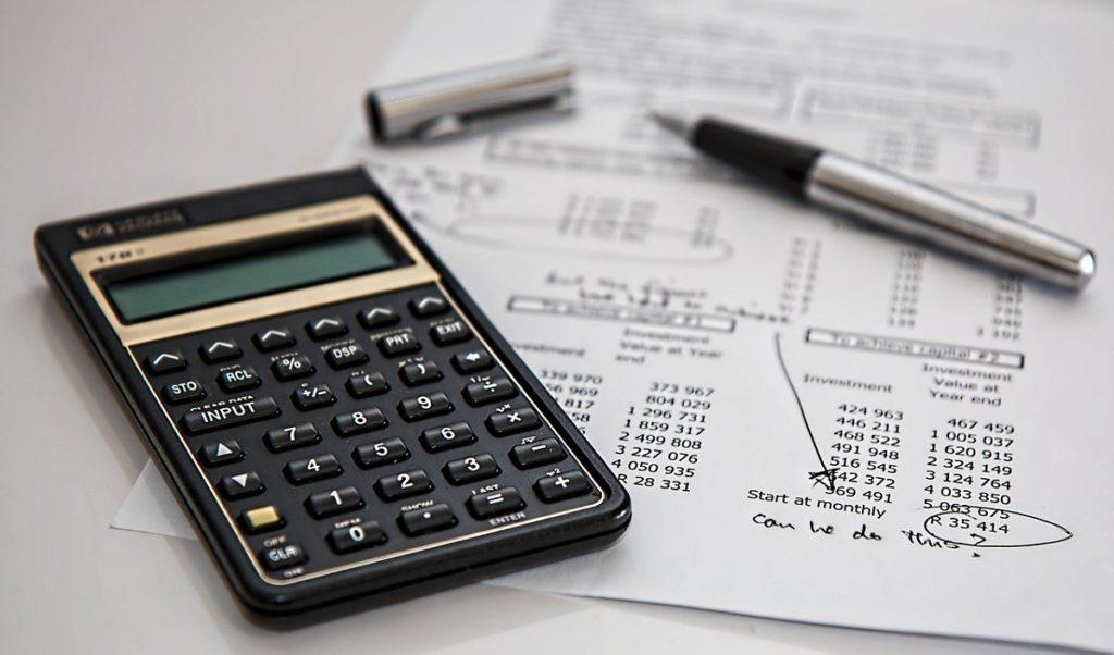 Propočet financí