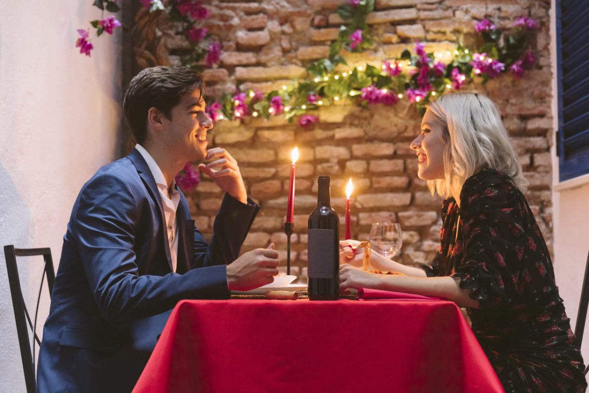 Romantická večeře