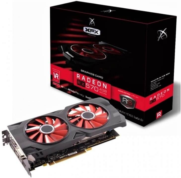 XFX RS Radeon RX 570 8GB TripleX Edition