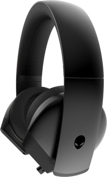 Herní sluchátka Dell Alienware 7.1. Headset AW510H Dark Side of the Moon