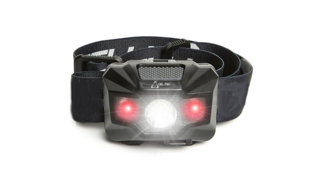 LED čelová svítilna